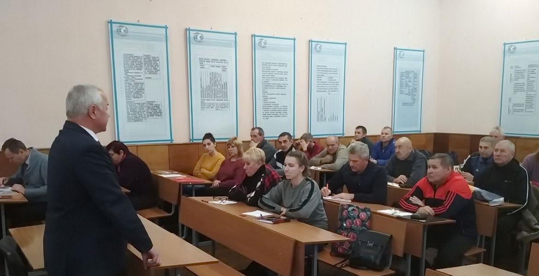 Встреча с учителями Могилевской области